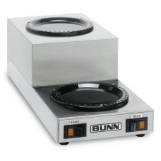 BUNN® 12882.0004 WS2 Stainless Steel Twin Coffee Warmer