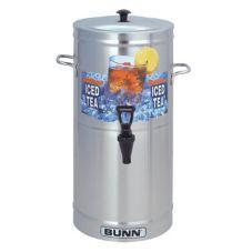 BUNN® TDS-3 3-Gallon Iced Tea Dispenser with Side Handles
