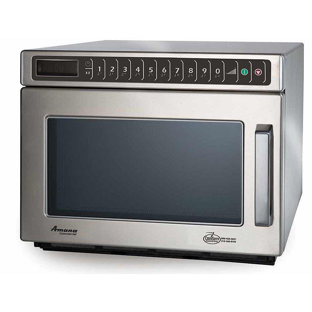 Amana Commercial HDC12A2 Heavy Volume 1200 Watt Microwave Ov