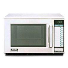 Sharp R-22GT Heavy-Duty 1200W Commercial Microwave