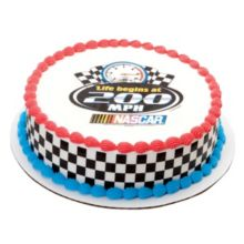 DecoPac 44164 Edible Image Life At 200 MPH Cake Decoration - 6 / BX