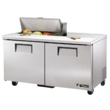 True TSSU-60-8 2-Door 8-Pan 15.5 Cu Ft S/S Sandwich & Salad Unit