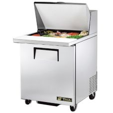 True TSSU-27-12M-C Left Hinged Door S/S 6.5 Cu Ft Sandwich Prep Table