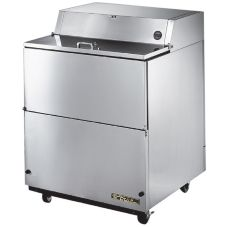 True® TMC-34-S-SS 13.8 Cu Ft S/S Refrigerated Milk Cooler