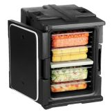 Cambro UPC400SP110 Black Front Loading Ultra Pan Carrier®