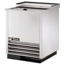 True® S/S 2-Shelf Glass and Plate Chiller / Froster, 24 Cubic Ft