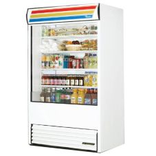 True® TAC-48 White 34 Cu Ft Self-Contained Vertical Air Curtain