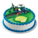 Bakery Crafts CK-247C Golf Cart Cake Kit - 6 / BX