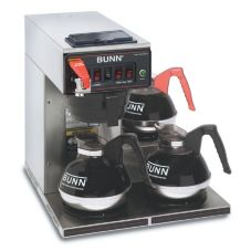BUNN® 12950.0232 CWTF20-3 Automatic Coffee Brewer with 3L Warmers
