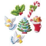 Lucks™ 14262 Dec-Ons® Deluxe Christmas Assortment - 150 / BX