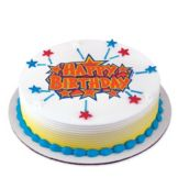 Lucks™ 43070 Edible Image® Birthday Stars - 12 / BX