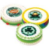 Lucks™ 43313 Edible Image St. Patrick's Variety Pack - 12 / BX