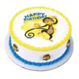 Lucks™ 43597 Edible Image® Monkey Birthday - 12 / BX