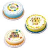 Lucks™ 33936 Edible Image Happy Birthday Variety Pack - 12 / BX