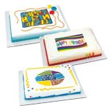 Lucks™ 43716 Edible Image Large Birthday Variety Pack - 12 / BX