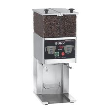 BUNN® S/S French Press Grinder FPG-2 DBC with Dual 3 Lb Hoppers