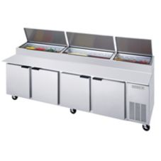 Beverage-Air® DP119 S/S 52.5 Cu Ft Pizza Top Refrigerated Counter
