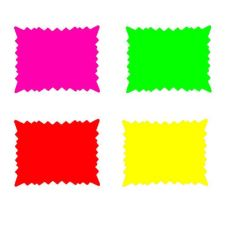 "Four Color Starburst Sign Pack, 5"" x 7"""