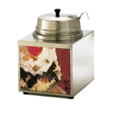 Star® 3WLA-W Countertop 3.5 Qt. Lighted Warmer with 1 Oz. Ladle