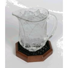Classic Hotel Woodwork OWPH Wooden Water Pitcher Holder - 6 / CS