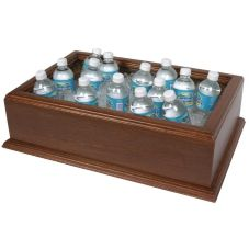 Classic Hotel Woodwork DCDM Mahogany 20 x 12 x 6 Cold Beverage Display