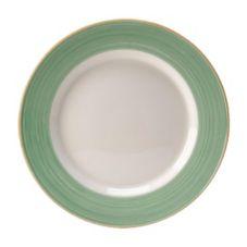 "Steelite 15290343 Rio Green 13"" Service / Chop Plate - 6 / CS"