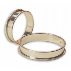 Matfer Bourgeat 371707 Small S/S Flan Ring