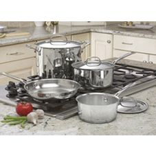 Cuisinart® 7 Piece S/S Cookware Set