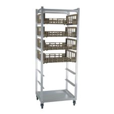 Mobile Produce Crisping Cart, Holds Eight 29-1/8 x 26-1/2 Chill Trays