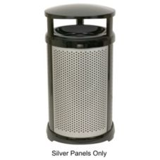 Infinity™ Round Perforated Panel Kit f/ 32 gal Container, Silver