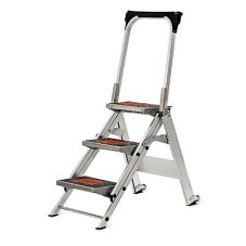 Industrial Products 10310B 3 Step Ladder With Handle