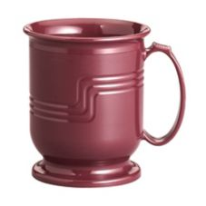 Cambro MDSM8487 Cranberry Shoreline Collection 8 Oz. Mug - 48 / CS