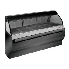 Alto-Shaam ED2SYS-72/P-BLK Halo Heat Self-Serve Heated Display Case