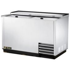 True T-50-GC-S 50 Cu Ft 5-Shelf Stainless Steel Glass / Plate Chiller