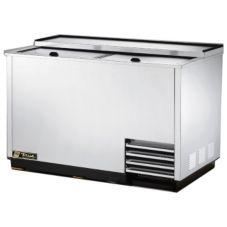 True T-50-GC-S S/S 50 Cu Ft 5-Shelf Glass / Plate Chiller
