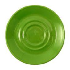 "Steelite 17040225 Simplicity Fern Carnival 6.5"" Soup Saucer - 36 / CS"