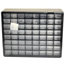 Ateco 64 Piece Storage Box for Bakery Tubes w/ Stickers