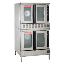 Blodgett DFG-200 DOUBLE Gas Convection Bakery-Depth Oven with Hood