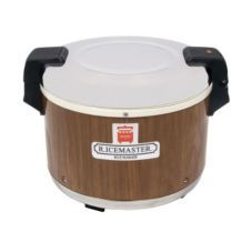 Town 56918 23 Qt. RiceMaster Woodgrain Electric Rice Warmer