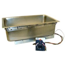 APW Wyott Top Mounted Drop-In Food Warmer, w/ Drain, TM-90D