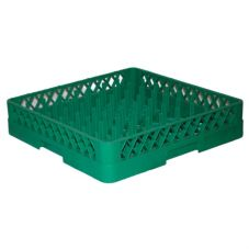 Vollrath® TR3-19 Traex® Plate and Tray Green Peg Rack