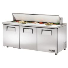 True® TSSU-72-18-ADA 19 Cu Ft Sandwich / Salad  Unit With 18 Pans