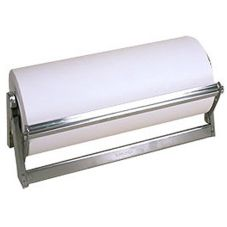 "Bulman 18"" Stainless Steel Paper Dispenser / Cutter"