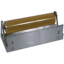 "Bulman Stainless Steel 18"" Food Wrap Film Dispenser"