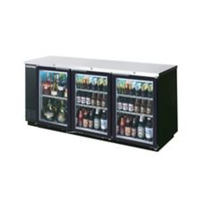 "Beverage-Air 79"" Refrigerated Backbar Cabinet with 2 Glass Doors"