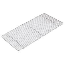 "Adcraft® 5"" x 10-1/2"" Chrome Plated Wire Pan Grate"