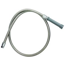 "T & S Brass B-0054-H 54"" Flexible Stainless Steel Hose"