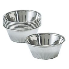 Adcraft® OYC-1/PKG 1-1/2 Oz. Stainless Steel Sauce Cup