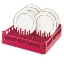 Vollrath® 5269530 Red Full Size Extended Plate Rack