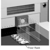 True 870502 Floor Rack  Kit For TD-65-24 / TDG-65-24 Bottle Cooler